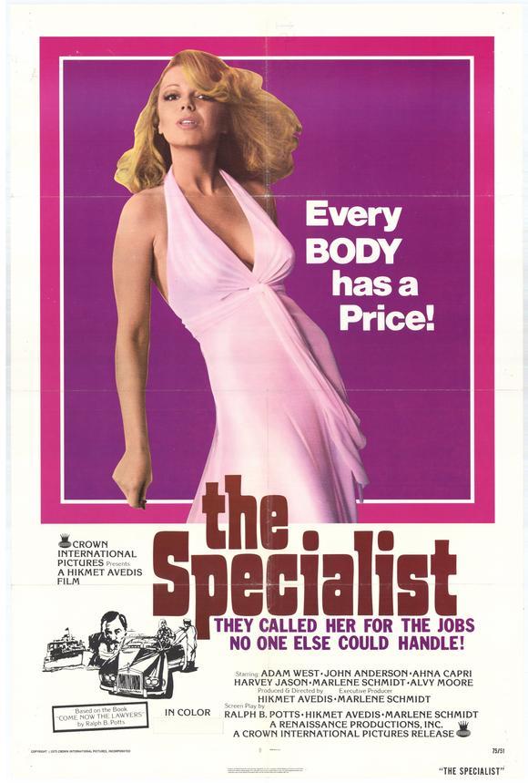 Ahna Capri in The Specialist (1975)