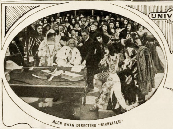 Allan Dwan and Murdock MacQuarrie in Richelieu (1914)
