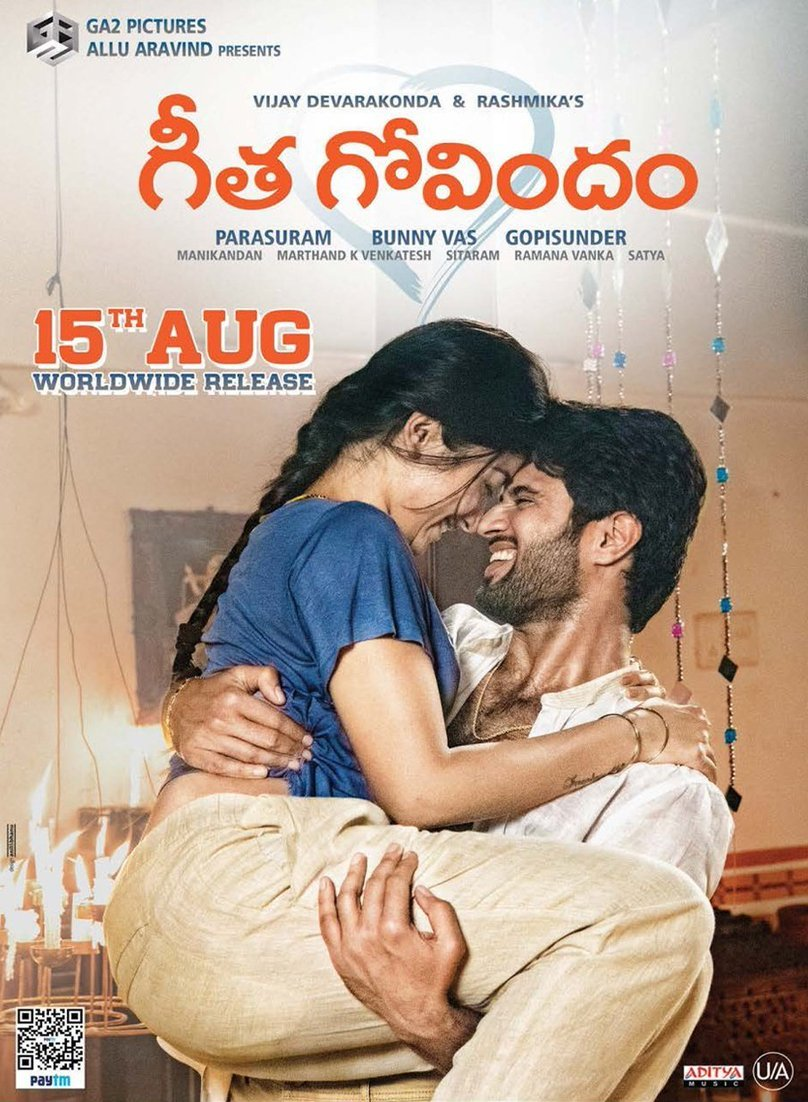 Geetha Govindam (2018) Telugu Proper HDTV-Rip – – x264 – 200MB | 400MB & 1.4GB Download