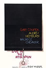 Love in the Afternoon Poster