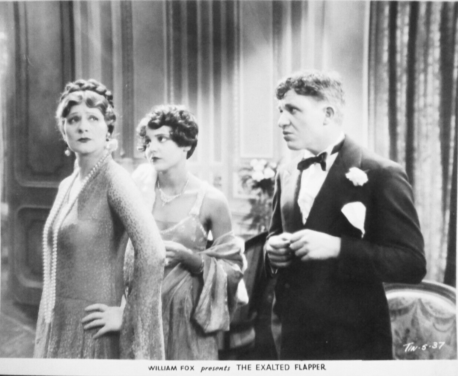 Sue Carol, Stuart Erwin, and Irene Rich in The Exalted Flapper (1929)