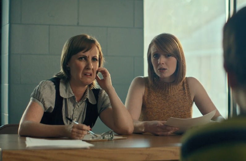 Kathy Searle and McKenna Cox in Crazy Famous (2017)