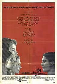 Katharine Hepburn, Vanessa Redgrave, Geneviève Bujold, and Irene Papas in The Trojan Women (1971)