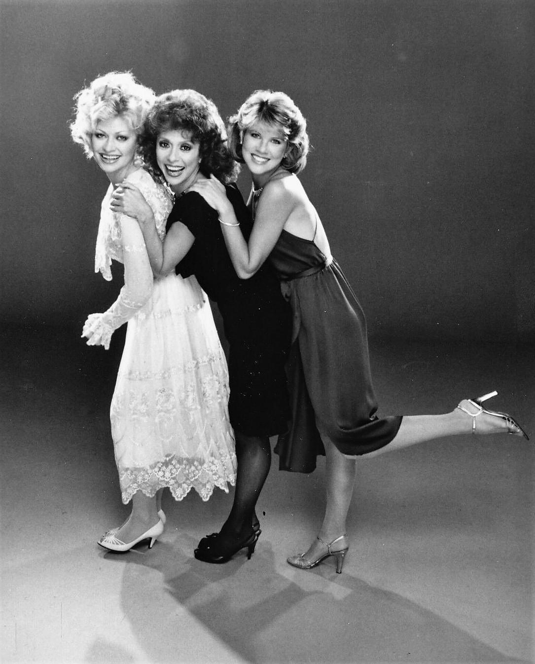 Rita Moreno, Leah Ayres, and Rachel Dennison in 9 to 5 (1982)