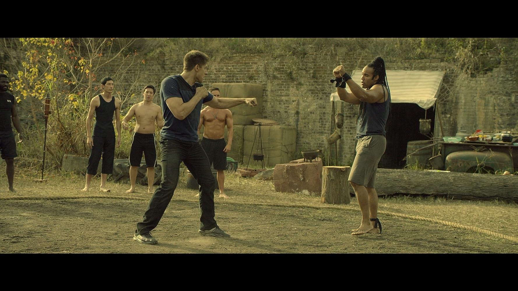Adegan film Kickboxer: Vengeance.
