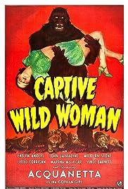 Captive Wild Woman Poster