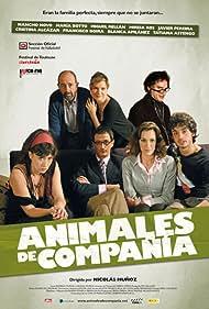 Francisco Boira, María Botto, Nancho Novo, Javier Pereira, Miguel Rellán, Mireia Ros, and Cristina Alcázar in Animales de compañía (2008)