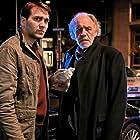 Christian Kohlund and Pierre Kiwitt in Borchert und der Mord im Taxi (2021)