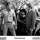 Kirk Douglas and John Schneider in Eddie Macon's Run (1983)