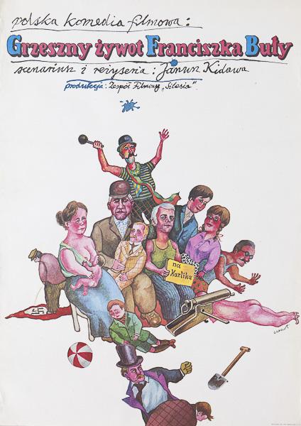 Grzeszny zywot Franciszka Buly (1980)