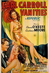 Stephanie Bachelor, Constance Moore, and Dennis O'Keefe in Earl Carroll Vanities (1945)