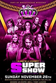 Queens Of Combat QOC Super Show Poster