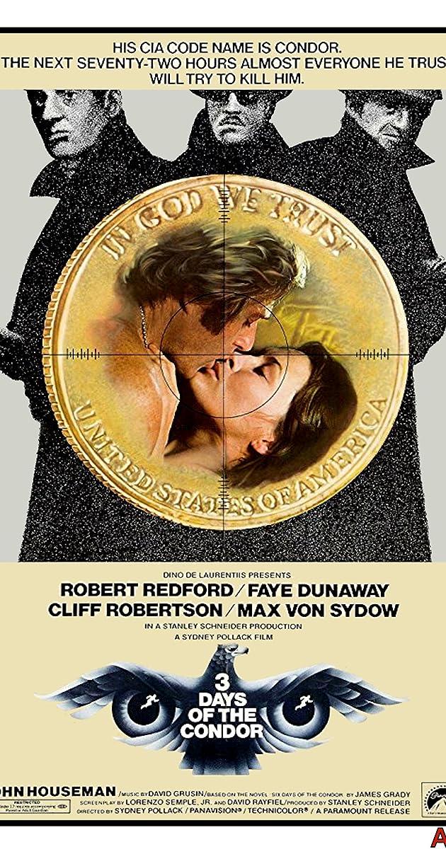 Three Days of the Condor (1975) - Three Days of the Condor