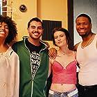Tulsi McDaniels, Michael Valentine, Solana Price, and Danny Legittino in Among the Hidden (2018)