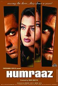 Bobby Deol, Akshaye Khanna, and Ameesha Patel in Humraaz (2002)