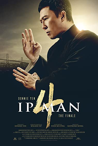 Poster of Ip Man 4: The Finale 2019 Full English Free Download Watch Online In HD Movie Download 480p HDRip