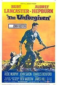 Audrey Hepburn and Burt Lancaster in The Unforgiven (1960)