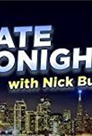 Late Tonight with Nick Burton Poster