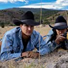 Chase Garland and Jessica Nunez-Wood in Peace River (2021)