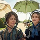 Tamsin Greig and Alice Eve in Belgravia (2020)