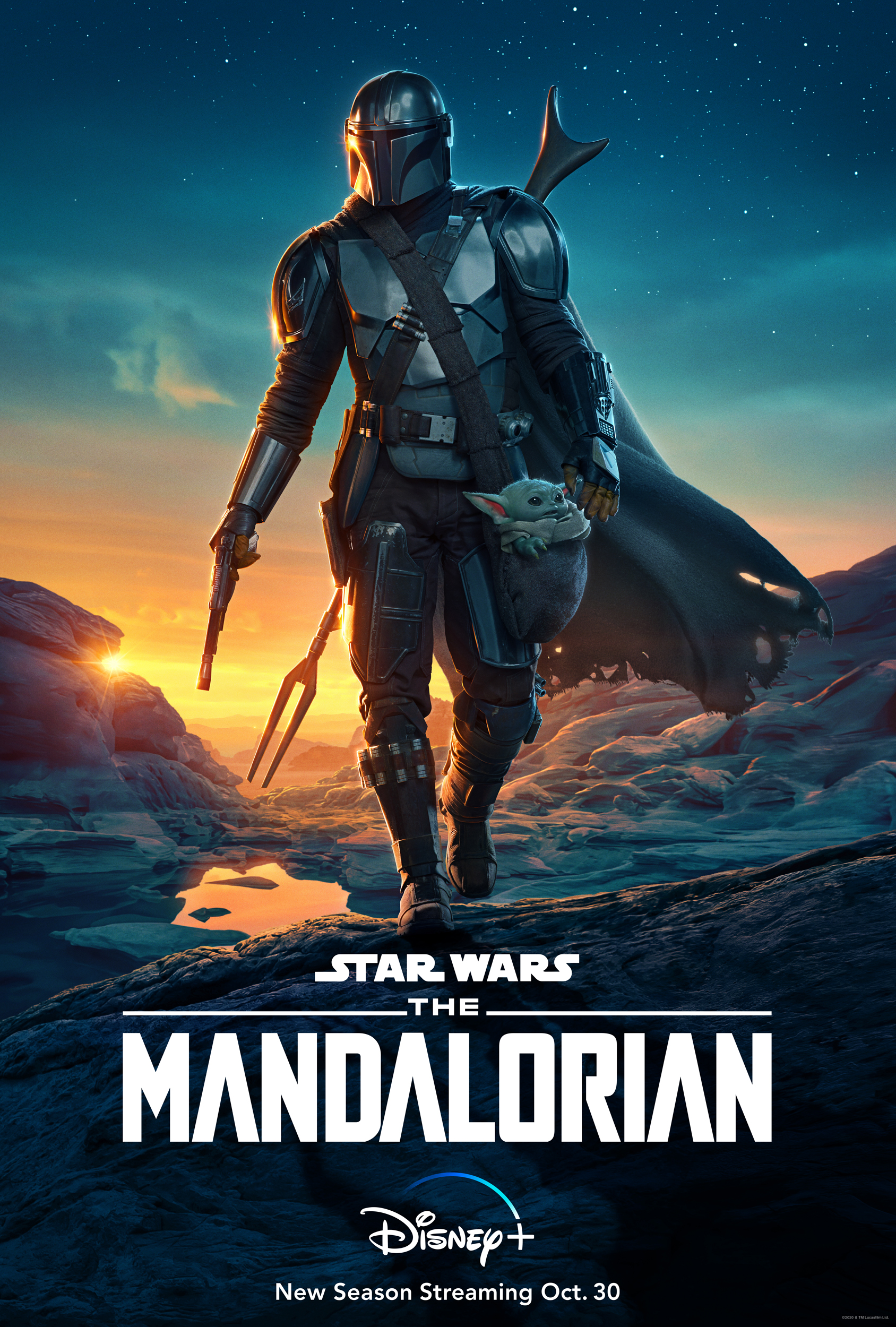 The Mandalorian 2020 S02EP3 English 720p HDRip ESubs 225MB Download