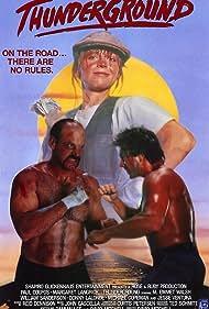Thunderground (1989) Poster - Movie Forum, Cast, Reviews