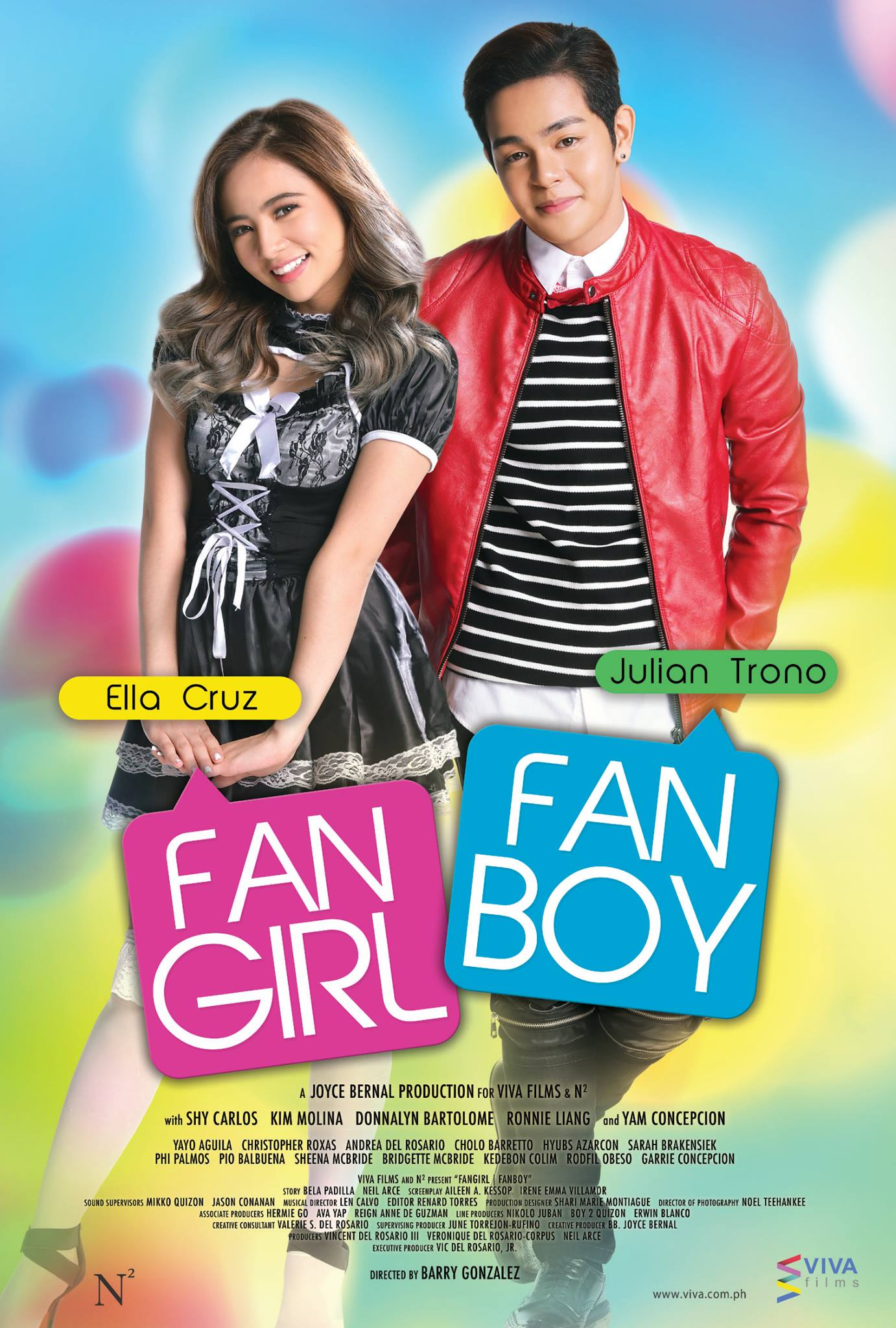 Ella Cruz and Julian Trono in Fangirl Fanboy (2017)