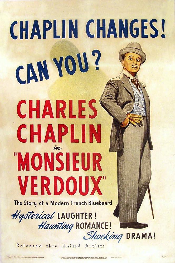 Charles Chaplin in Monsieur Verdoux (1947)