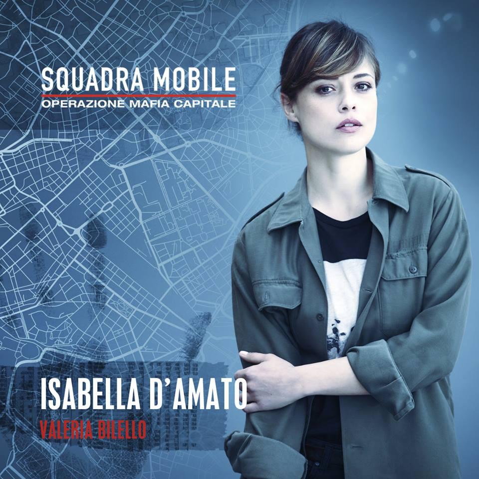 Valeria Bilello in Squadra mobile (2015)