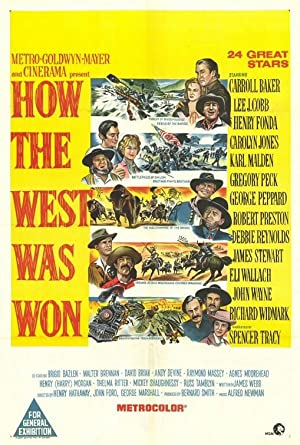 How the West Was Won Poster Image