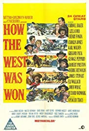 How the West Was Won (1962) Poster - Movie Forum, Cast, Reviews