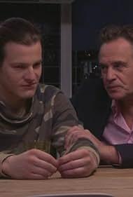 Joep Sertons and Guido Spek in Goede tijden, slechte tijden (1990)