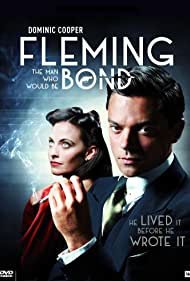 Dominic Cooper and Lara Pulver in Fleming (2014)