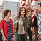 """Miranda Frigon, Erin Krakow & David Hayden Jones in """"A Cookie Cutter Christmas"""""""