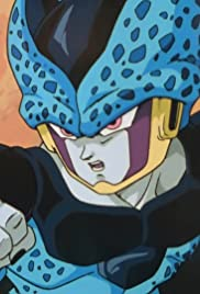 Fighting Spirit Free from Hesitation! Gohan Pulverizes the Cell Juniors Poster
