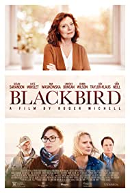 Susan Sarandon, Sam Neill, Kate Winslet, Rainn Wilson, and Mia Wasikowska in Blackbird (2019)