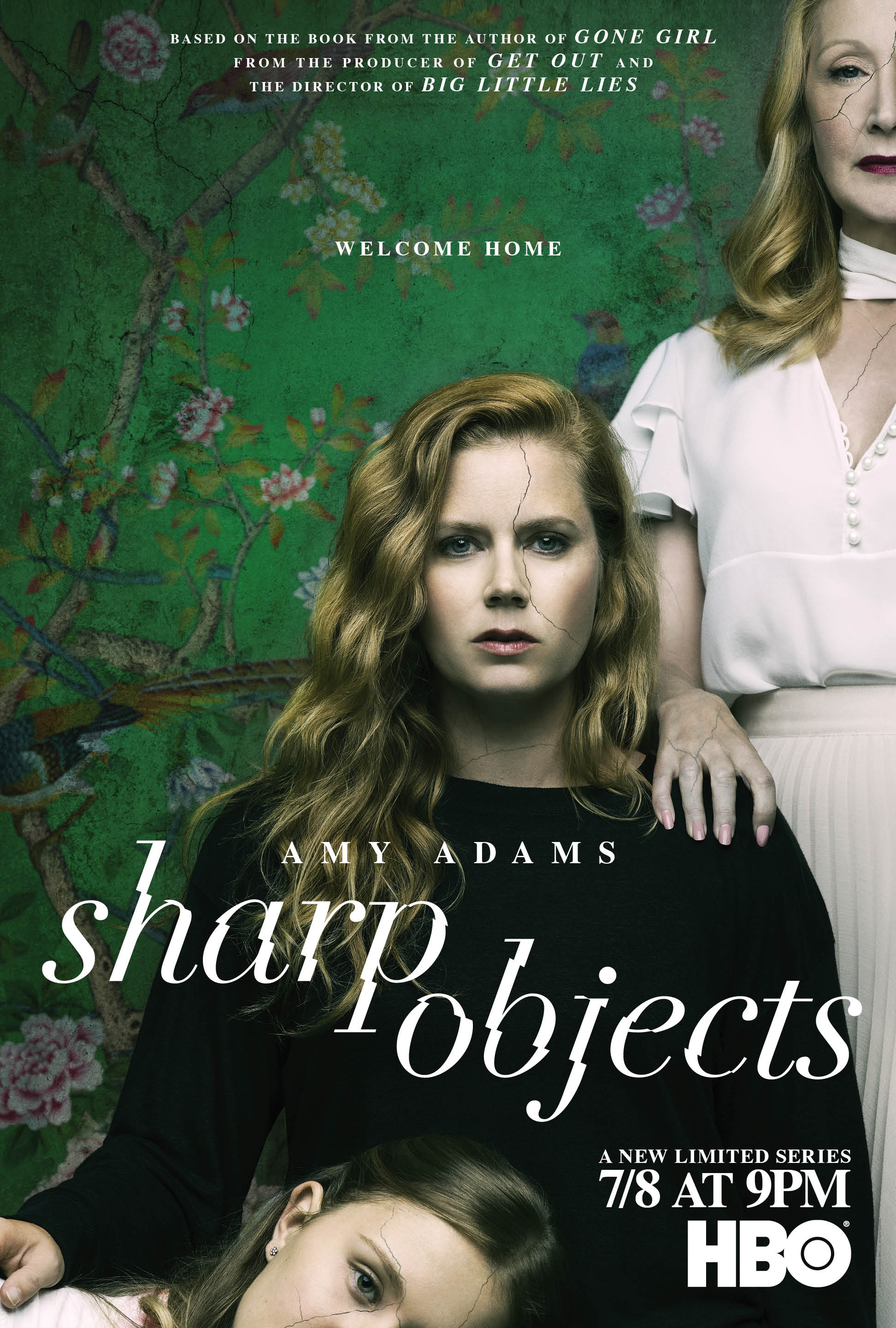 Image result for SHARP OBJECTS (2018) poster