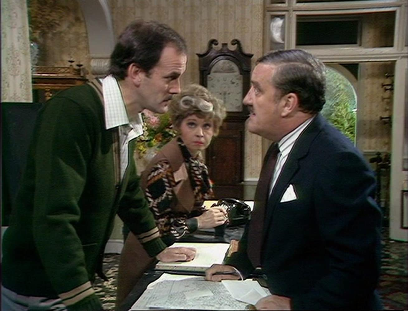 Image result for bernard cribbins fawlty towers