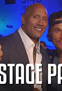 Primary photo for Backstage Pass with the Rock Feat. Kevin Hart, Terry Crews, Tenacious D & More!!