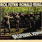 Errol Flynn, Ronald Reagan, and Arthur Kennedy in Desperate Journey (1942)