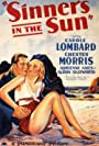 Carole Lombard and Chester Morris in Sinners in the Sun (1932)
