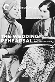 Wedding Rehearsal (1932) Poster - Movie Forum, Cast, Reviews