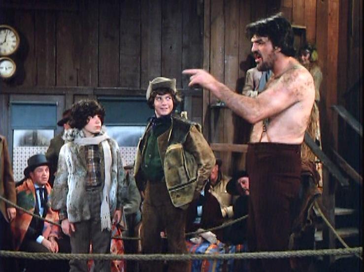 James Calvert, Jack O'Halloran, and Meeno Peluce in Best of the West (1981)