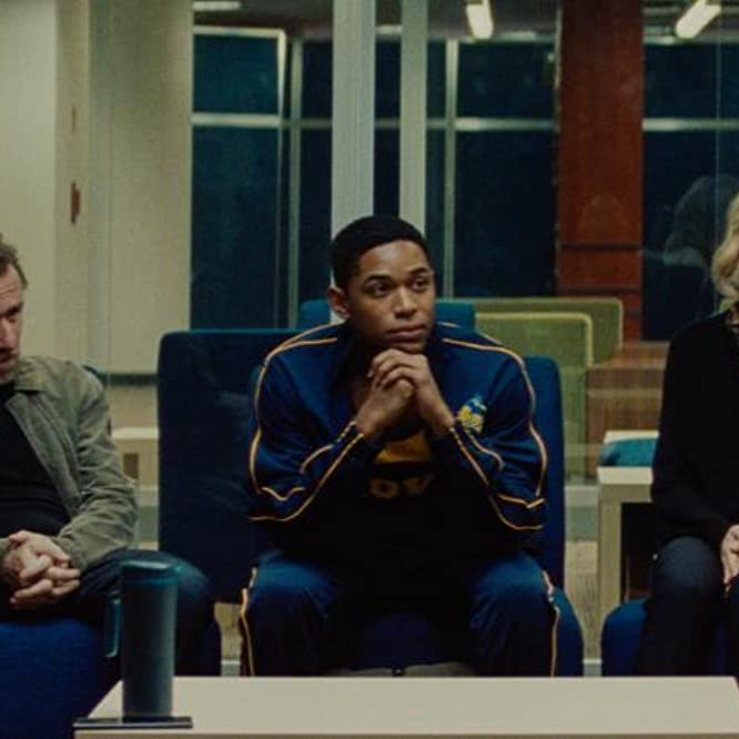 Tim Roth, Naomi Watts, and Kelvin Harrison Jr. in Luce (2019)