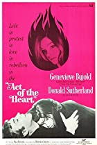 Act of the Heart (1970) Poster