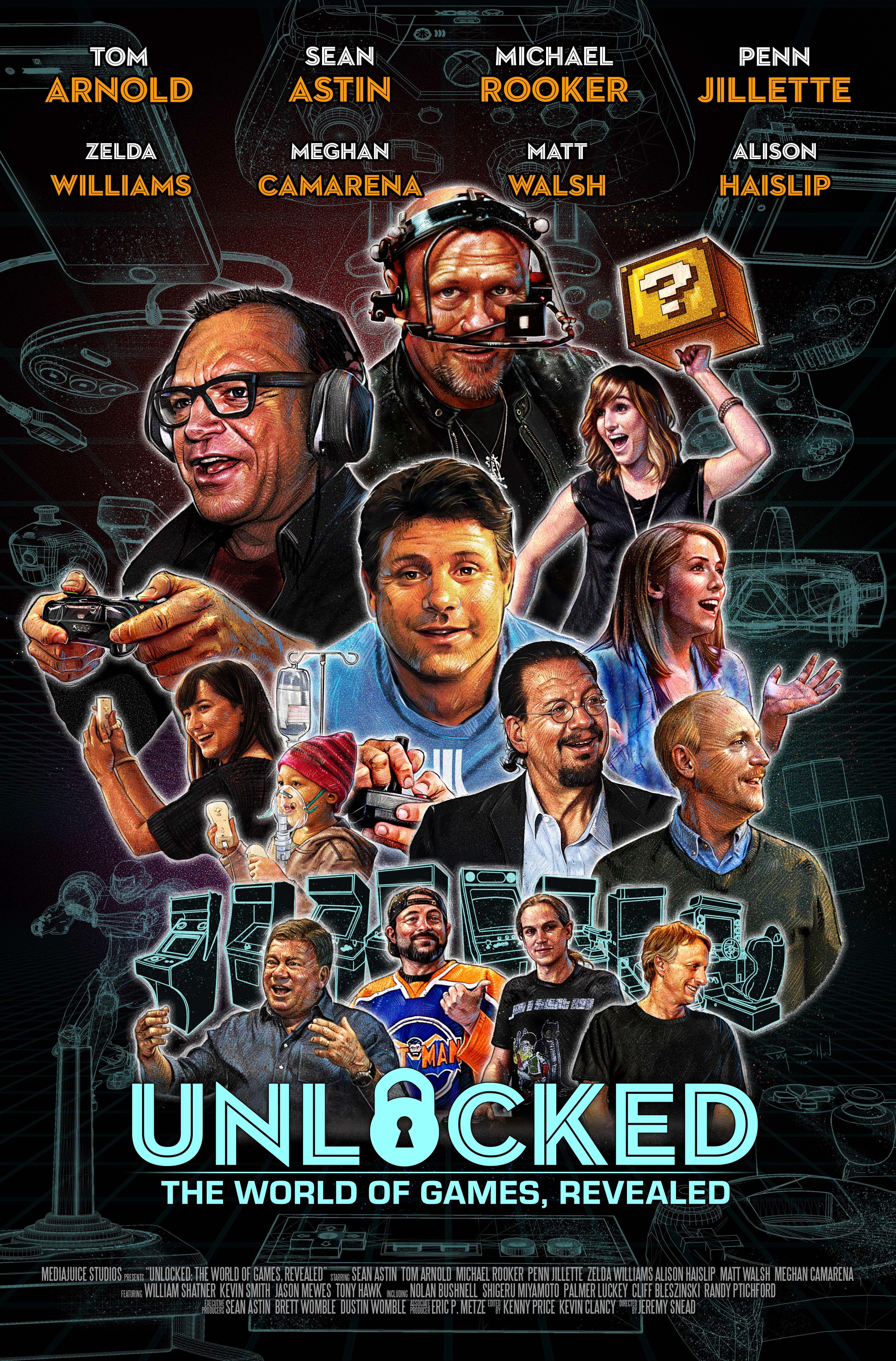 unlocked the world of games revealed tv series 2016 imdb