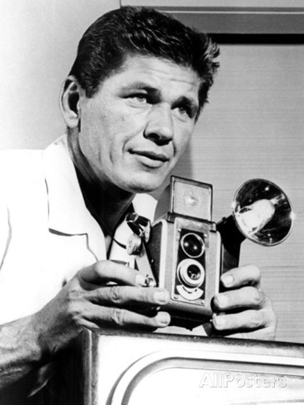 Charles Bronson in Man with a Camera 1958