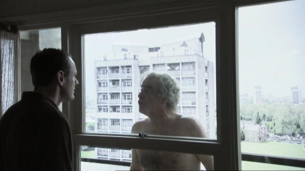 Sean Lock and Geoffrey McGivern in 15 Storeys High (2002)