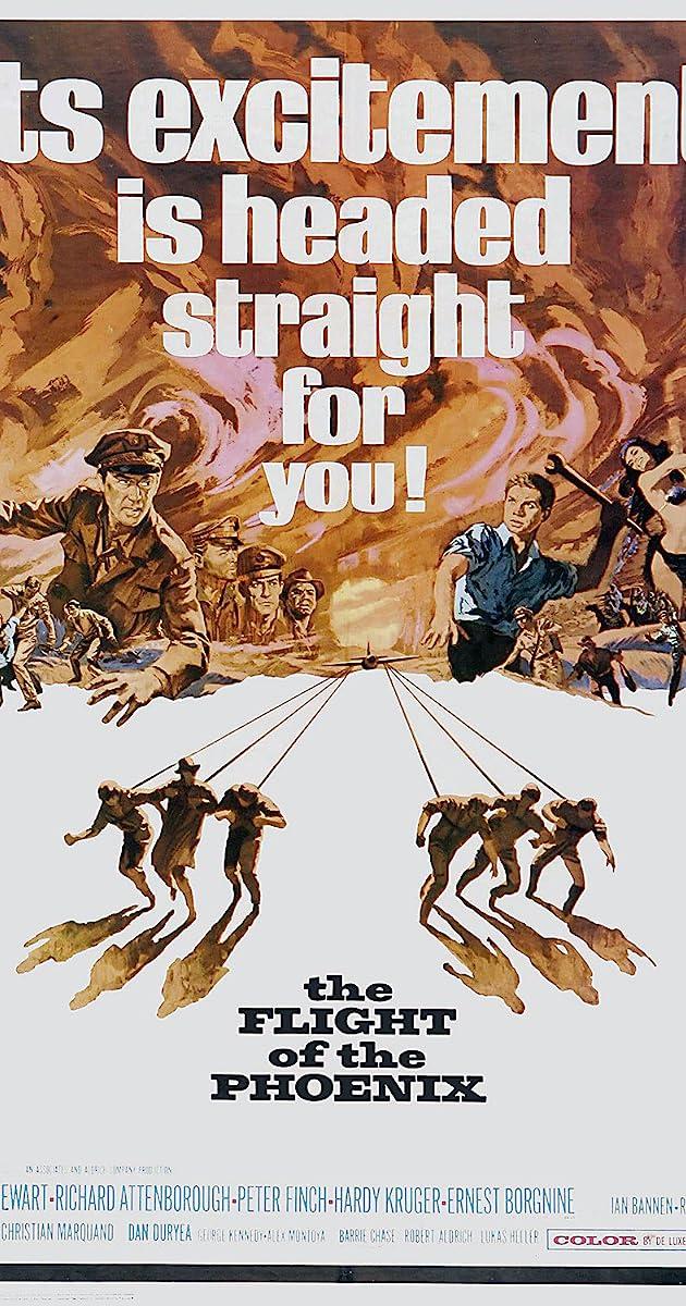 Watch Full HD Movie The Flight of the Phoenix (1965)