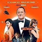 Jean Reno, Pascal Demolon, Reem Kherici, and Camille Chamoux in Mes trésors (2017)